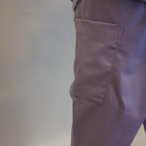 Detail broek Corbeil paars geschikt voor op OK