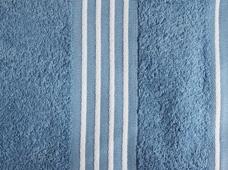 handdoek blauw-wit