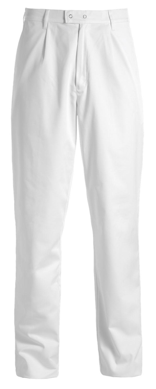 heren pantalon wit met drukknopen