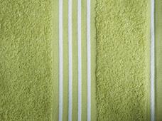 handdoek limoen-wit
