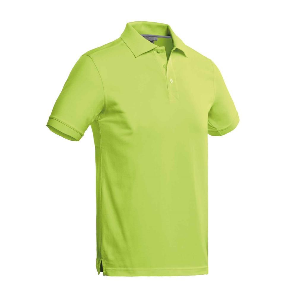 heren polo Mojo lime