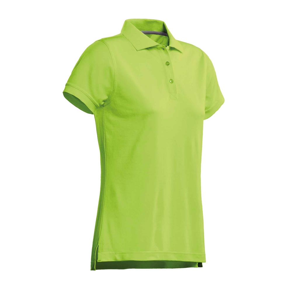 dames polo Mojo lime