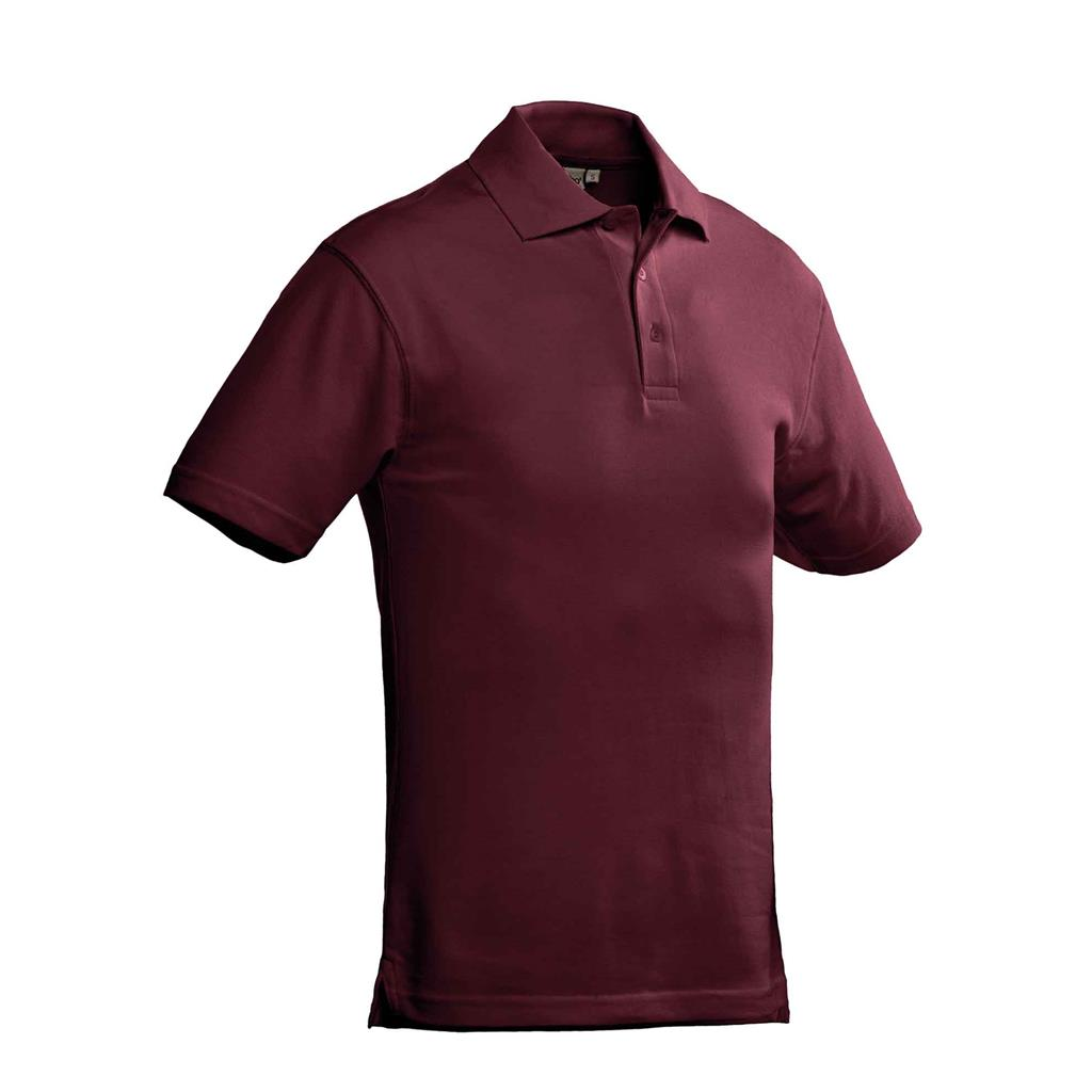 heren polo Ricardo burgundy