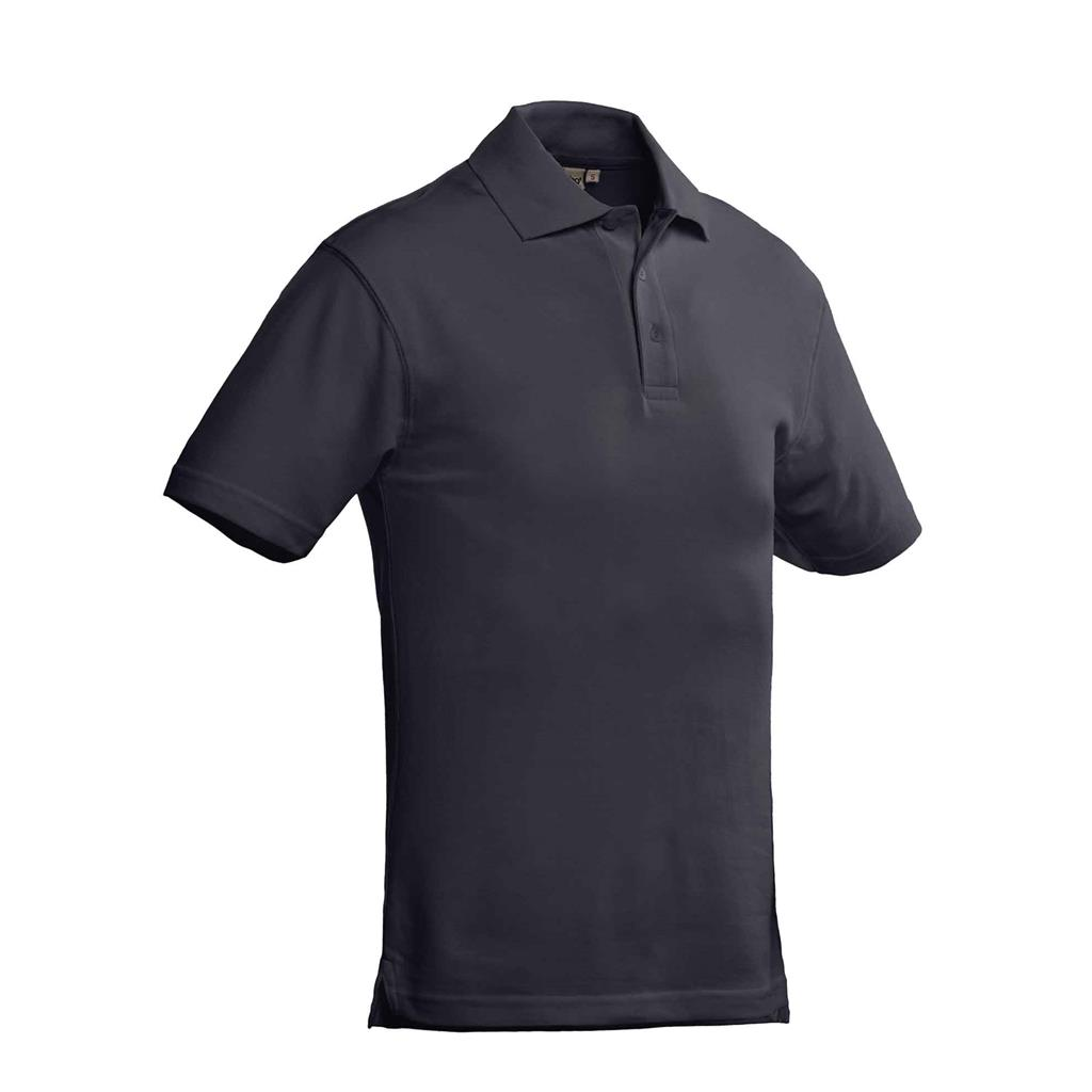 heren polo Ricardo graphite