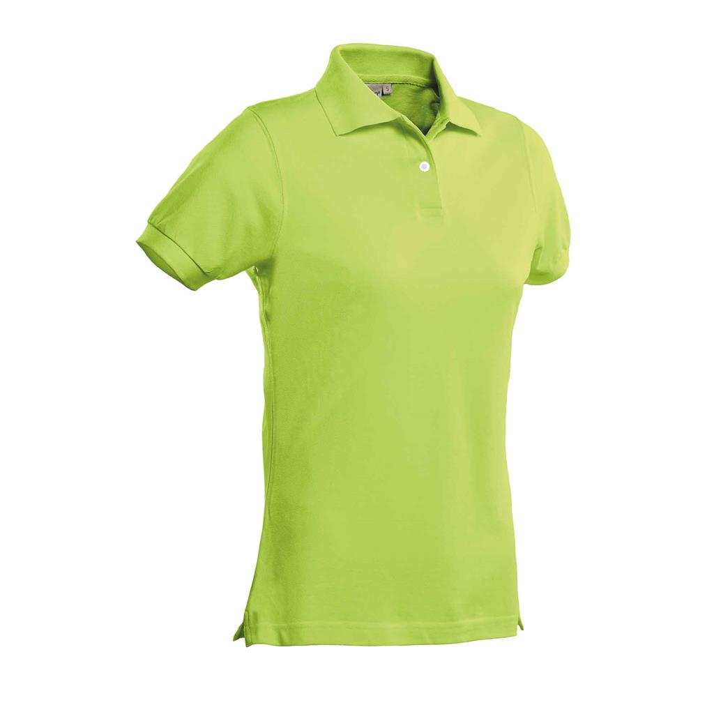 dames polo Ricardo lime
