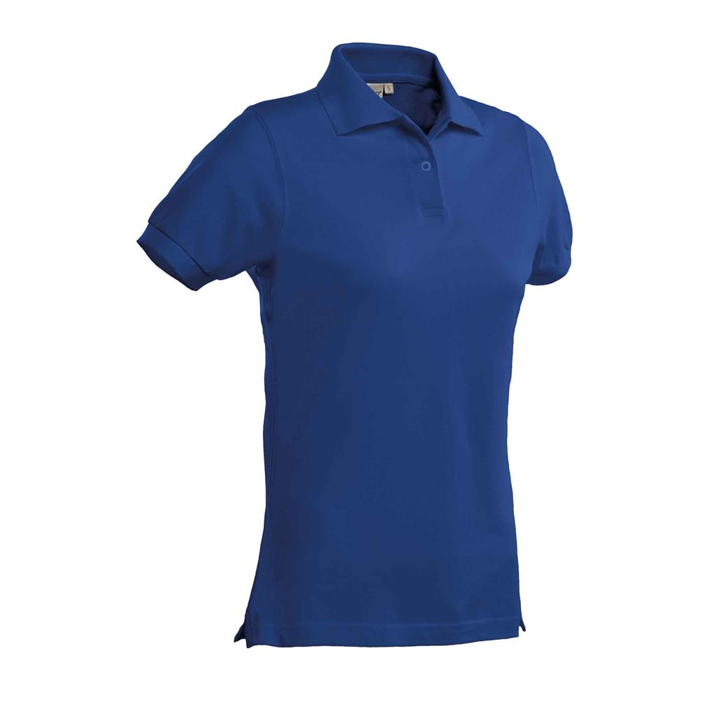 dames polo Ricardo royal blue