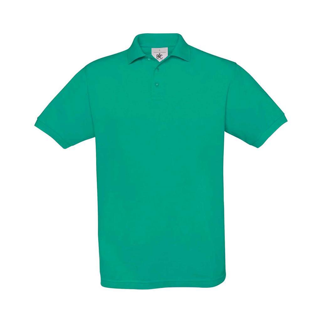 heren polo Safran zee groen