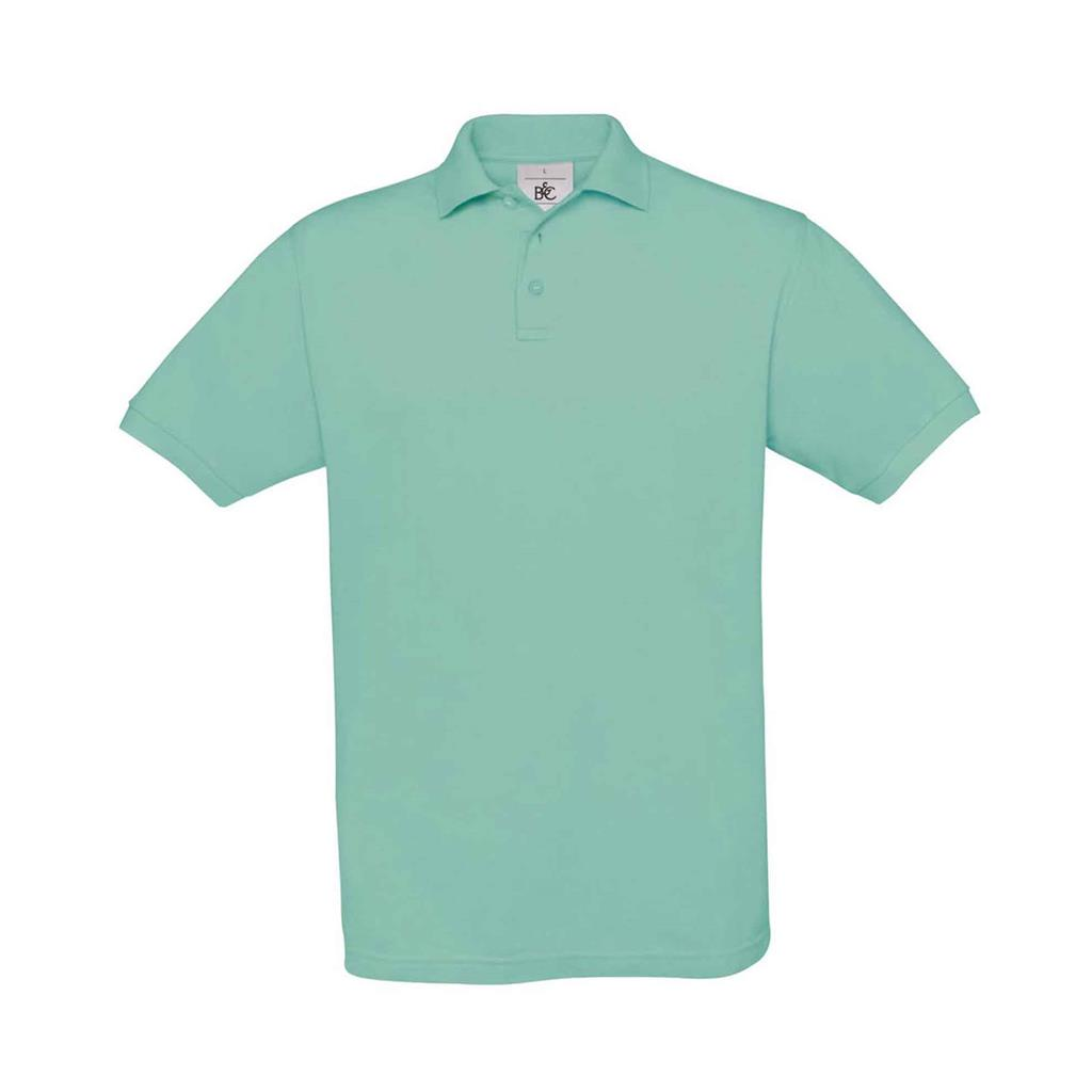 heren polo Safran turquoise