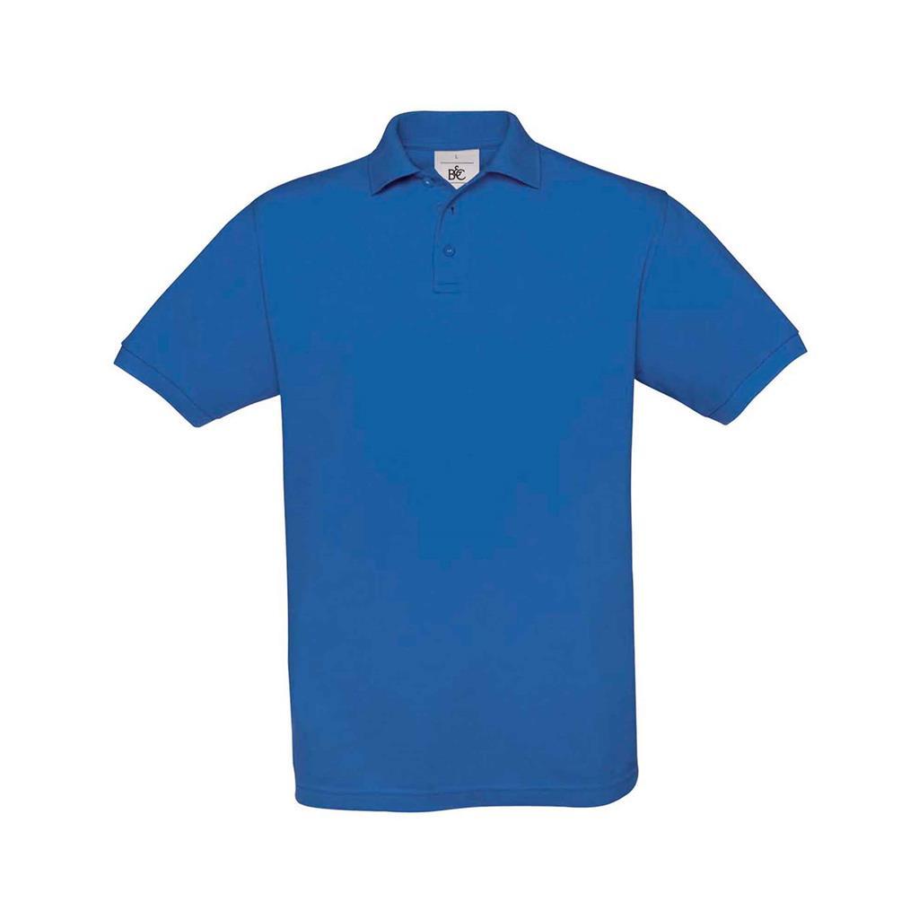heren polo Safran royal blue