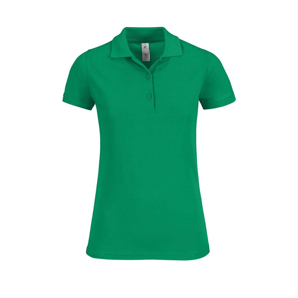dames polo Safran kelly green
