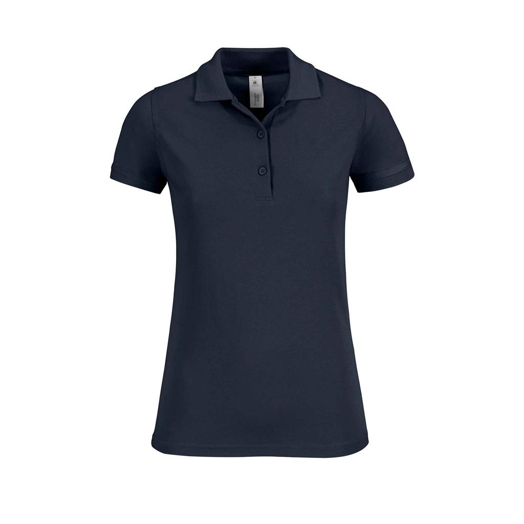 dames polo Safran navy