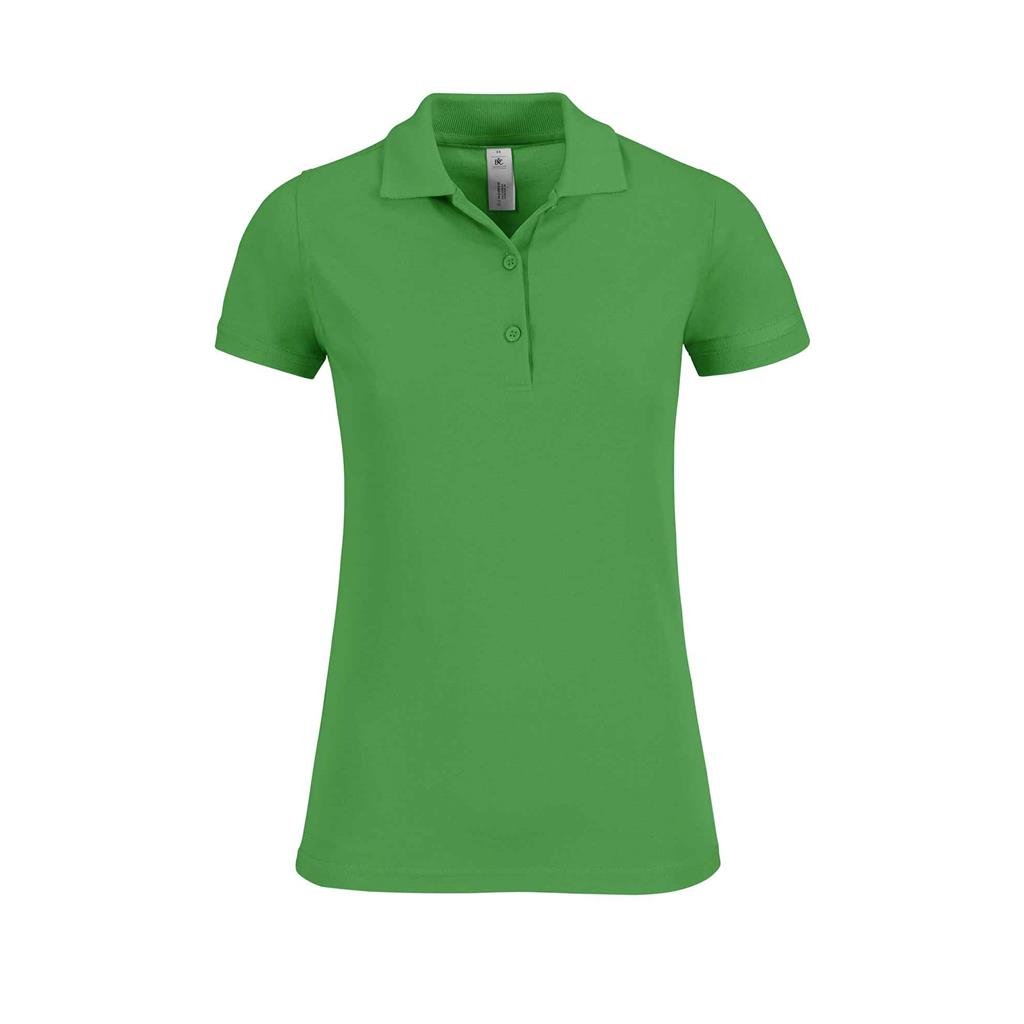 dames polo Safran real green