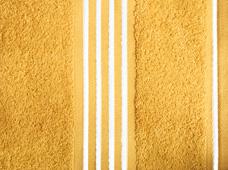 handdoek goud geel-wit