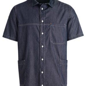 unisex shirt jeans blauw