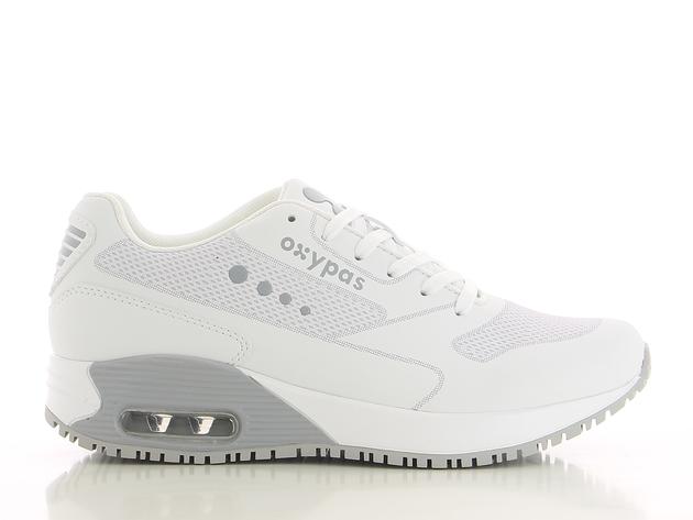 schoen ELA wit-grijs merk Oxypas
