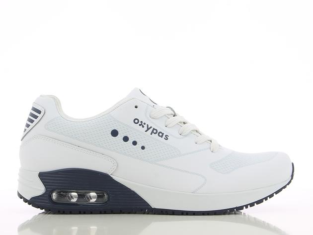 schoen JUSTIN wit-navy merk Oxypas