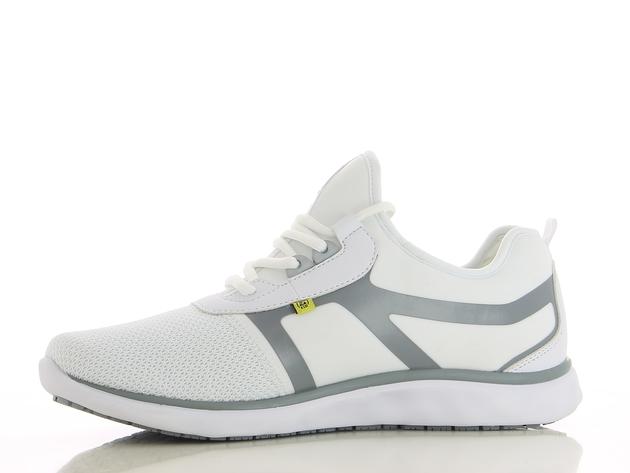schoen LUCA wit-grijs merk Oxypas