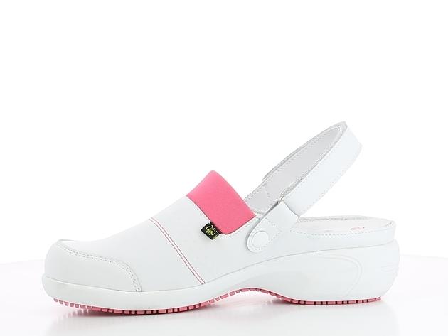 schoen SANDY wit-roze merk Oxypas