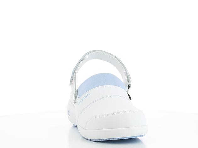 schoen SANDY wit-aqua merk Oxypas