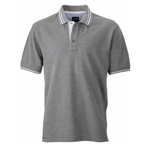 heren polo shirt twee kleuren