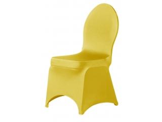 stoelhoes strak geel