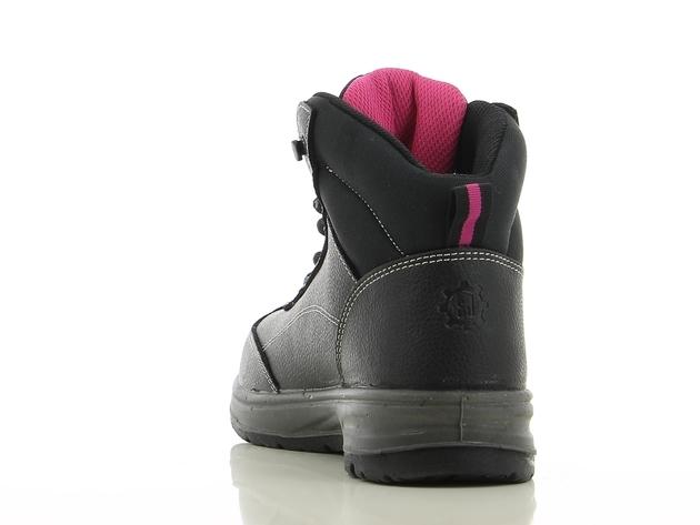 Dames veiligheidsschoen BESTLADY Safety Jogger, zwart