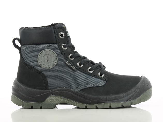 Werkschoen DAKAR Safety Jogger, Leverbaar in kleur bruin, blauw en zwart