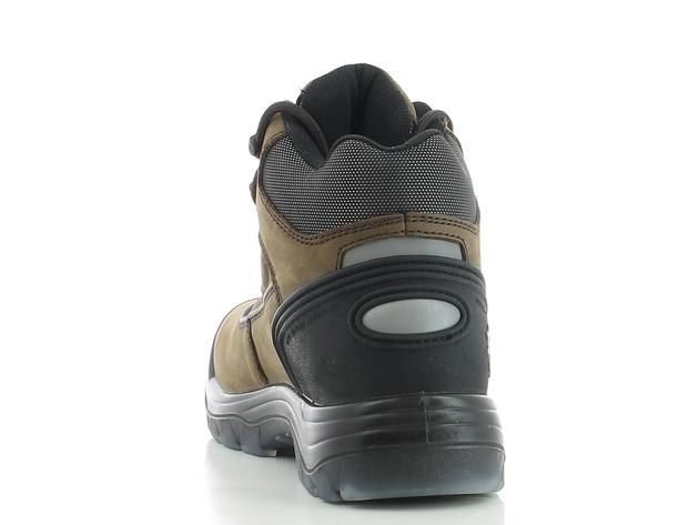 Veiligheidsschoen GEOS Safety Jogger, Leverbaar in kleur bruin