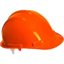 veiligheidshelm oranje